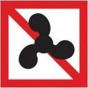Verboden voor motorboten
