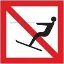 Verboden te waterskiën