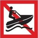 Verboden voor waterscooters